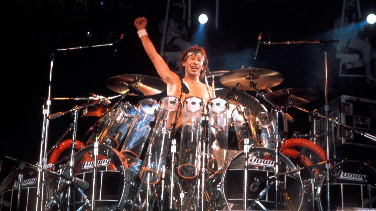 Drum lesson: How to play the Van Halen 'Hot For Teacher' drum intro