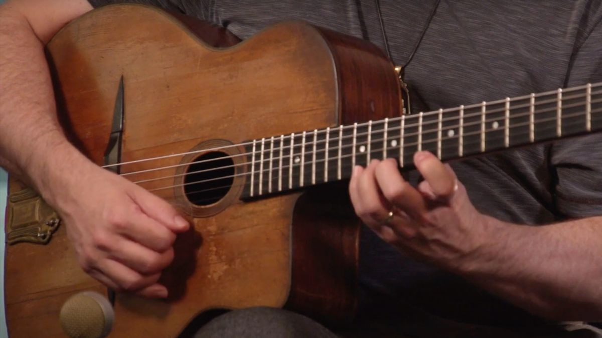 Get to know a staple of gypsy jazz: the A harmonic minor scale