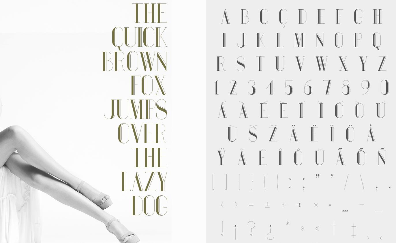 Best free fonts: Bauru