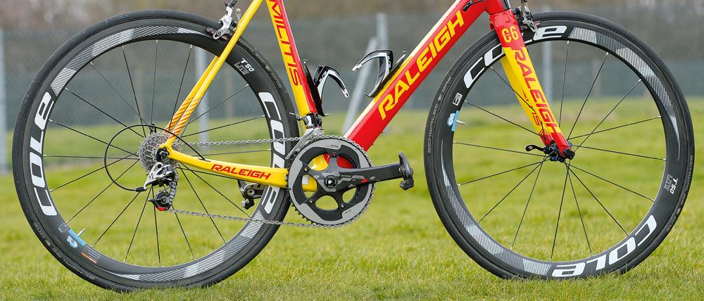 Raleigh Wilko Bike wheels
