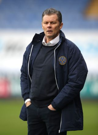Shrewsbury Town v Oxford City – FA Cup – Second Round – Montgomery Waters Meadow
