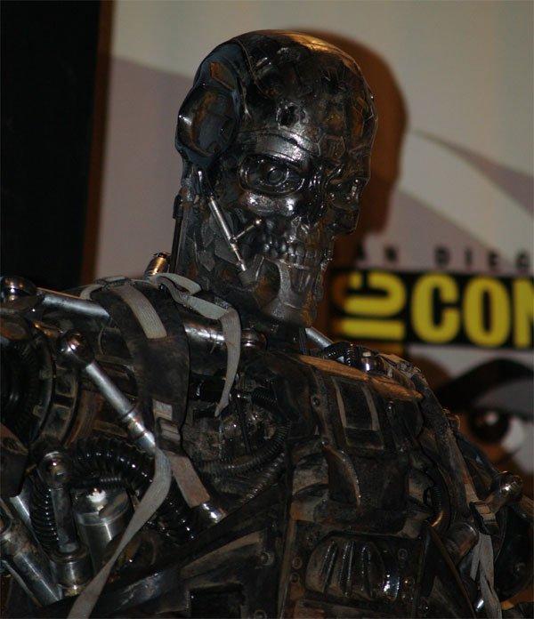 Comic Con In Photos: Terminator Salvation's T-600 #112