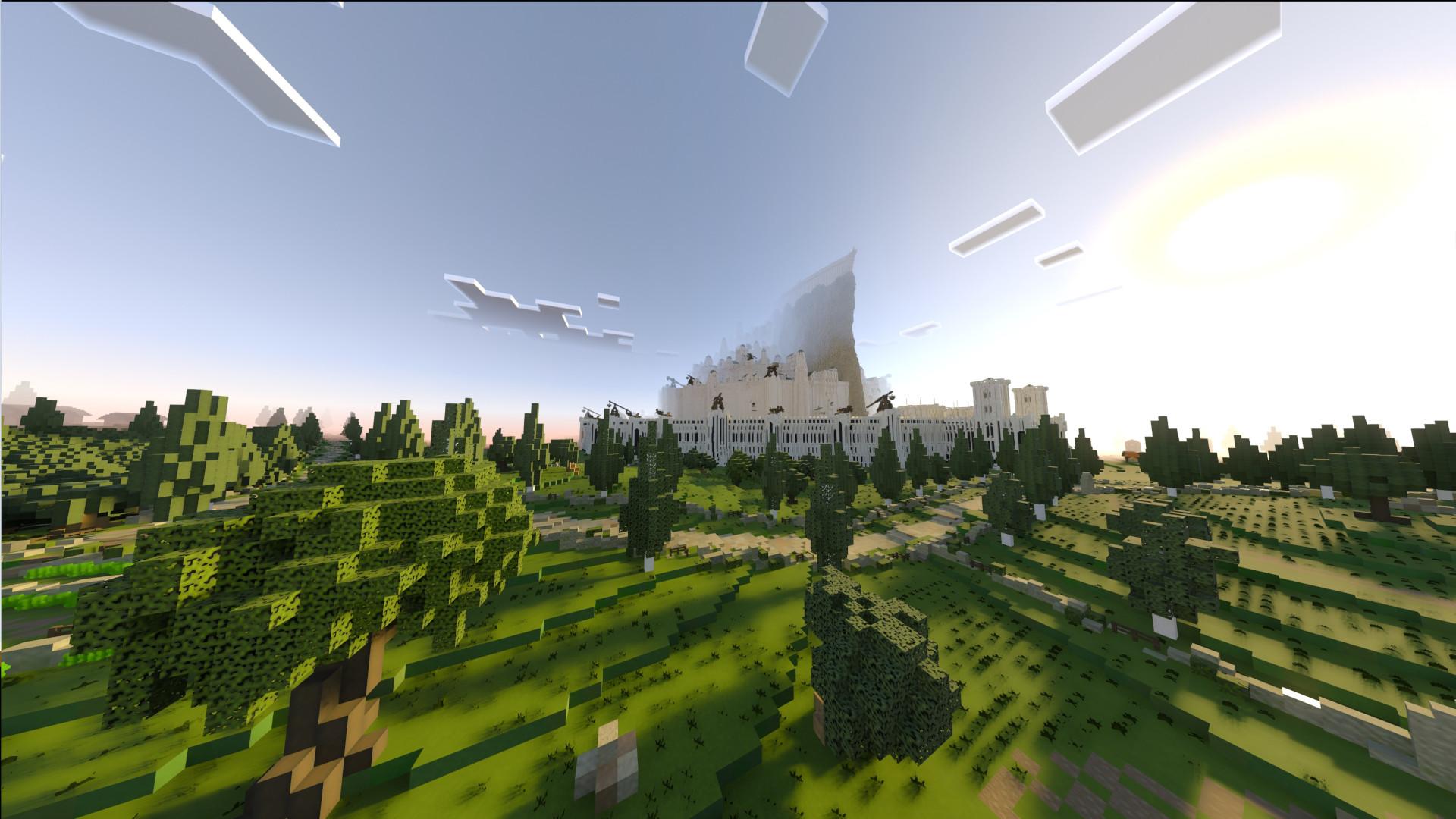 Minecraft with RTX
