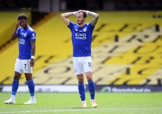 James Maddison admits he was left disappointed as Leicester conceded a late equaliser at struggling Watford.