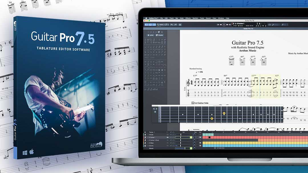 NAMM 2019: Guitar Pro's new 7.5 feature set debuts