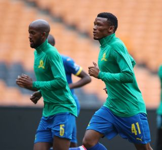 Mothobi Mvala of Mamelodi Sundowns
