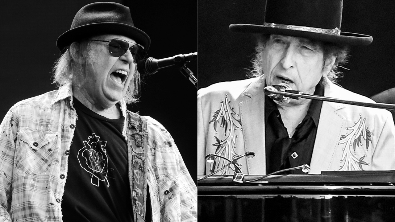 Watch Neil Young and Bob Dylan duet Will The Circle Be Unbroken | Louder