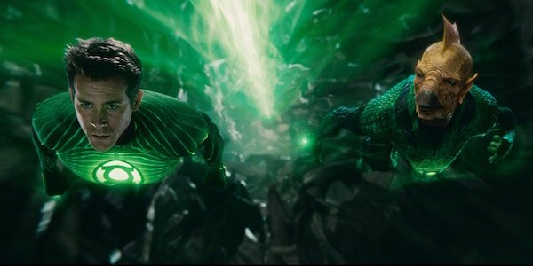 Hal Jordan and Tomar-Re in Green Lantern