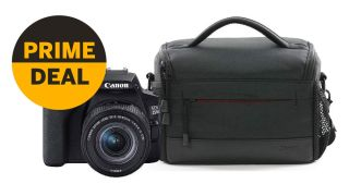 Amazon Prime Day: Canon EOS 250D with lens and bag