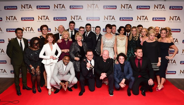 The cast of EastEnders (ITV)