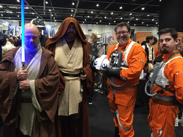 Jedi and X-Wing Pilots