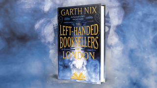 The cover of The Left-Handed Booksellers of London.