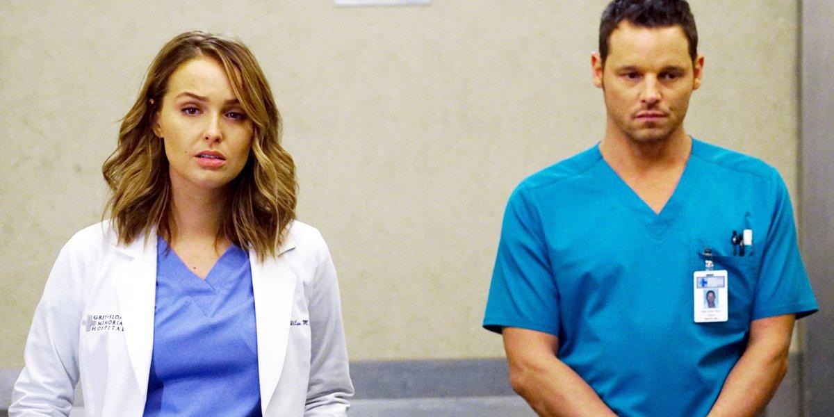 Grey's Anatomy Jo Wilson and Alex Karev ABC
