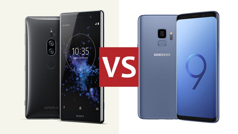 Sony Xperia XZ2 Premium and Samsung Galaxy S9