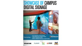 Showcase of Campus Digital Signage