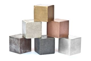 blocks of metals