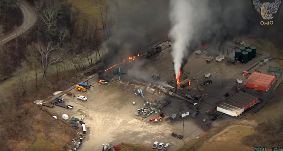Catastrophic Ohio Methane Leak Stayed Hidden Until a Satellite Found It