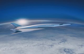 Boeing unveiled a new hypersonic passenger plane concept at the AIAA Aviation Forum 2018 in Atlanta on June 26, 2018. The plane could have military or commercial uses, Boeing says