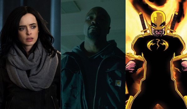 jessica jones luke cage iron fist the defenders