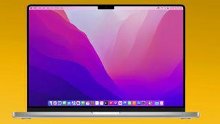 MacBook Pro 2021 bezel with notch