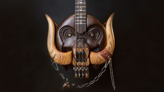 One of the specially commissioned basses