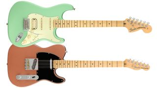 Fender American Performer electric guitars