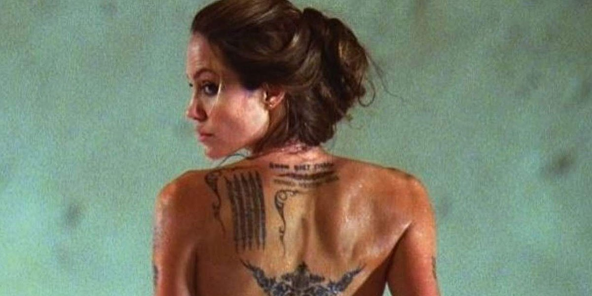 Wanted Angelina Jolie's Tattoos 2008