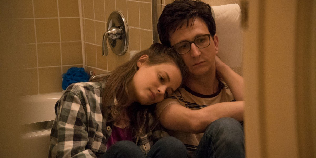 Gillian Jacobs and Paul Rust in Love