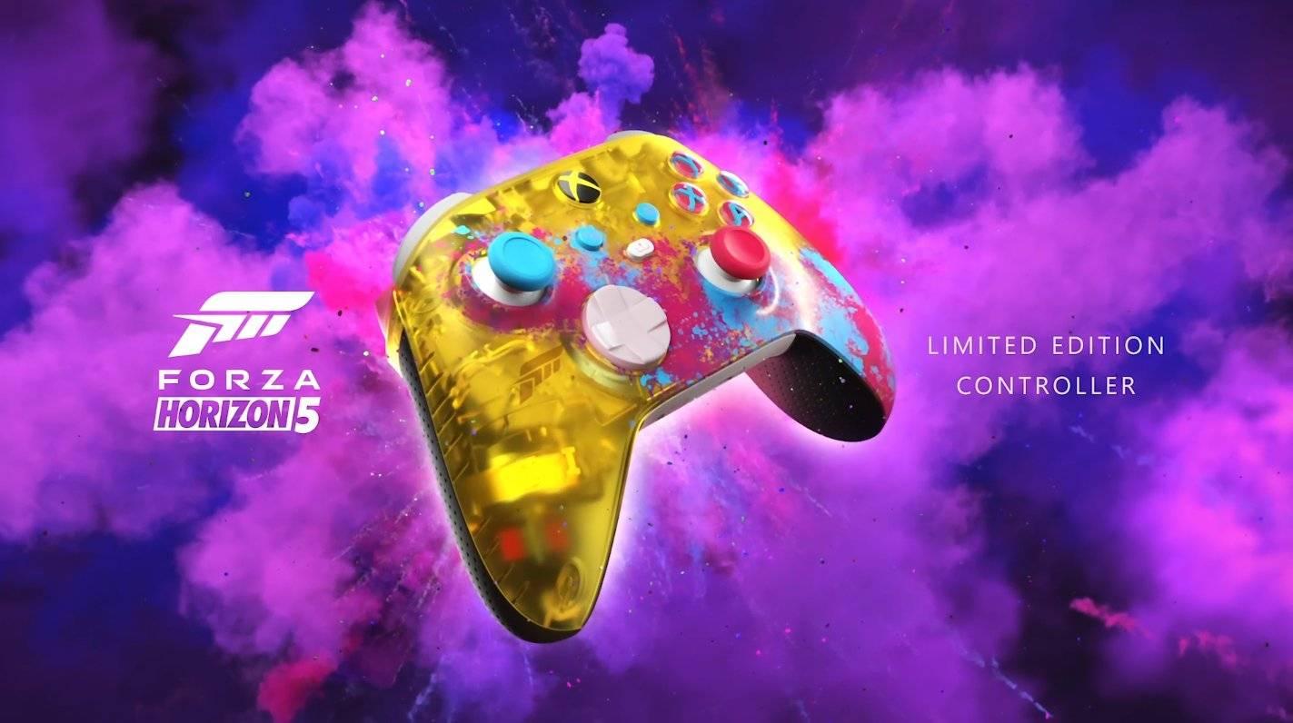 Custom Forza Horizon 5 Xbox Series X controller