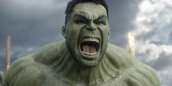 Mark Ruffalo's Hulk in Thor: Ragnarok