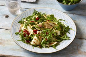 Seafood lovers will adore this tasty squid salad with garlic and chilli