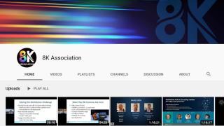 8K Association YouTube channel