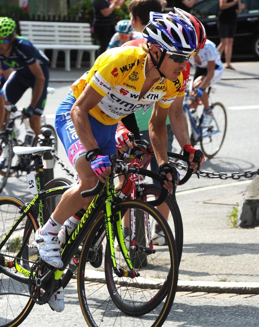 Damiano Cunego, Tour de Suisse 2011, stage six
