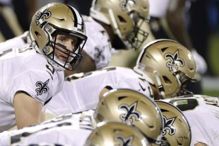 Drew Brees and the New Orleans Saints hope to advance past the Chicago Bears during the Wild Card round of the NFL playoffs Sunday, Jan. 10.