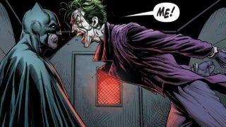 Page from Batman: Three Jokers