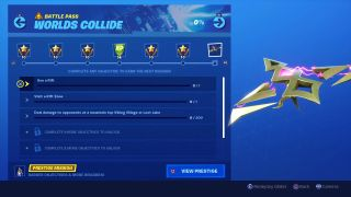 Fortnite Worlds Collide challenges: Worlds Collide mission and prestige explained