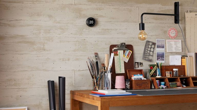 what is a smart thermostat and do I need one? nest smart thermostat in home office