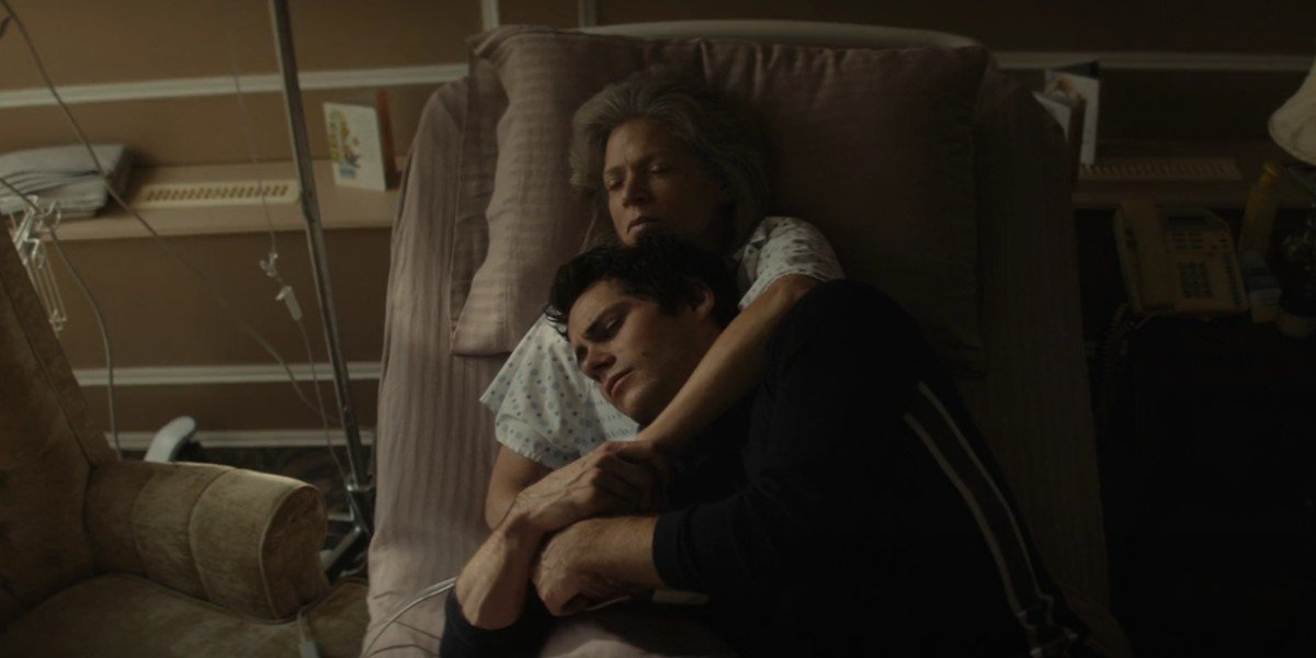 Dylan O'Brien and Liisa Repo-Martell in Flashback