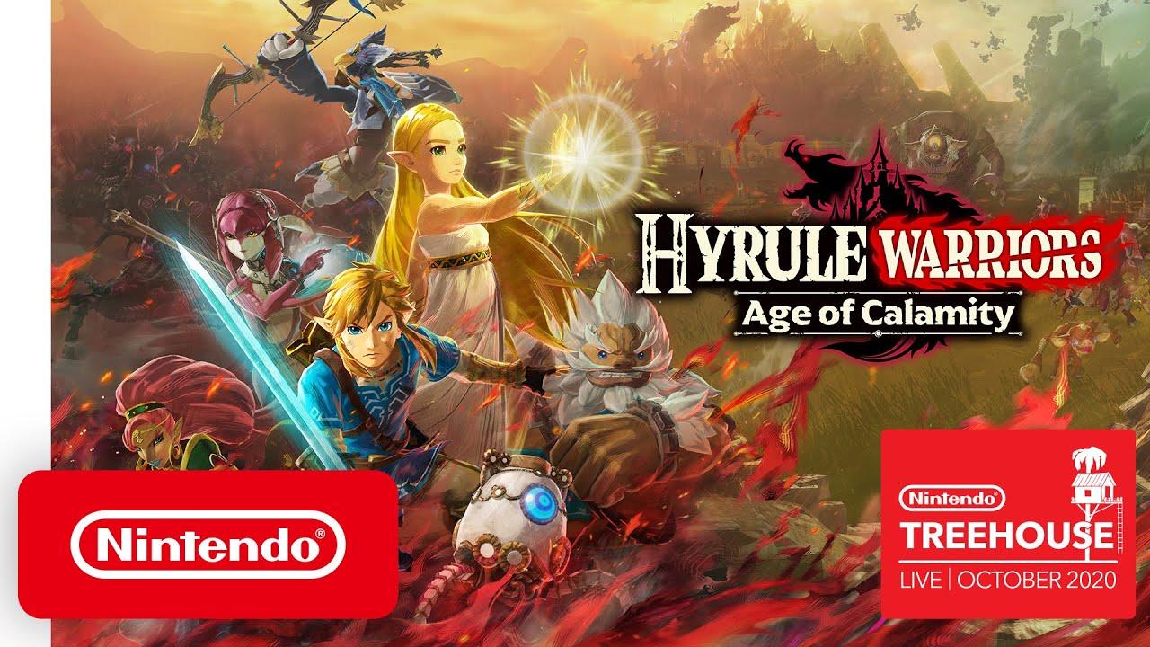 Hyrule Warriors Age Of Calamity Zelda Impa And Urbosa Gameplay Revealed Gamesradar