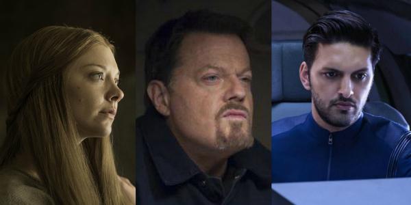 Natalie Dormer Game of Thrones Eddie Izzard Hannibal Shazad Latif Star Trek Discovery