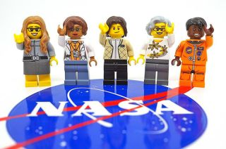 "A fan-made set of Lego minifigures celebrating pioneering women in NASA's history will be produced for sale. The ""Women of NASA"" minifigures include: computer scientist Margaret Hamilton; mathematician Katherine Johnson; astronaut Sally Ride; astronomer N"