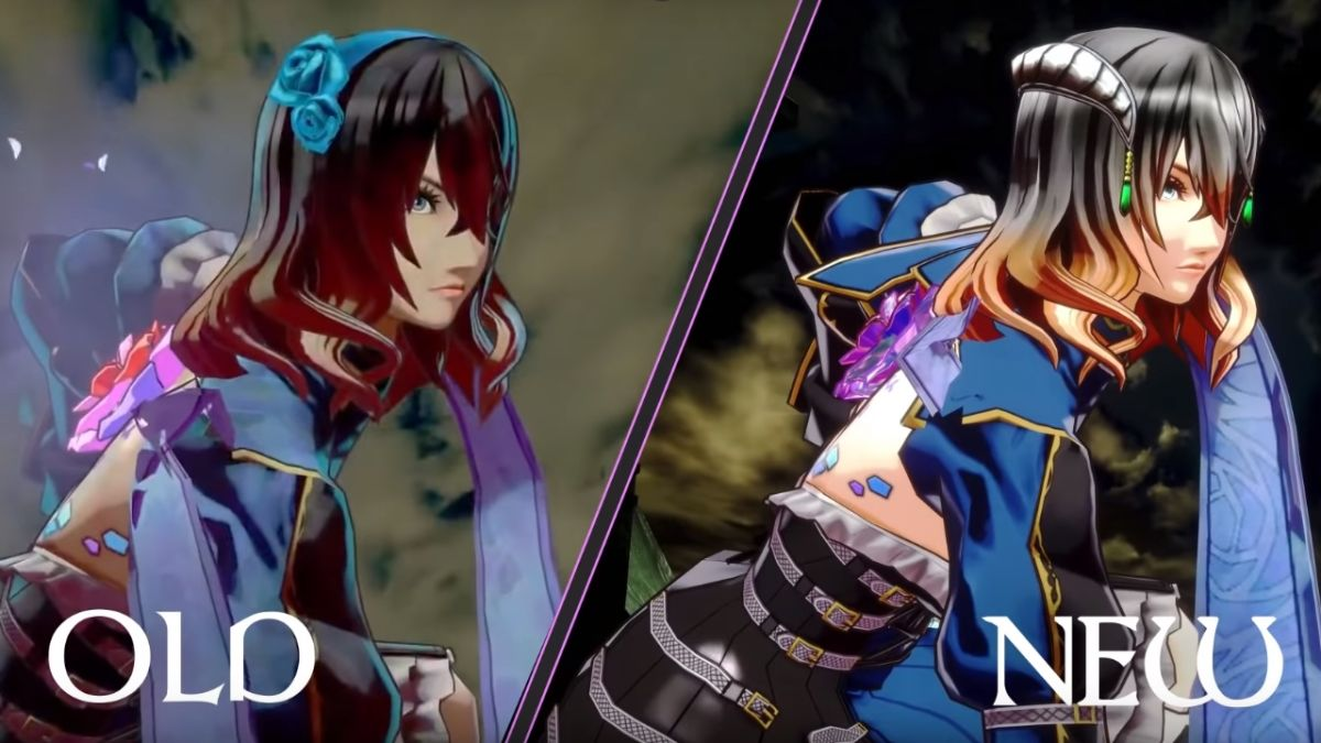 """Bloodstained: Ritual of the Night responds to """"looks like poop"""" criticisms with a major makeover"""