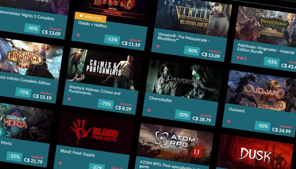 GOG's Black Friday Sale starts off with flash sales on Kingdom Come: Deliverance, Pathologic 2, and more