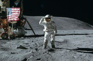 Apollo 16 Moonwalker is First Astronaut to be Named Texan of the Year