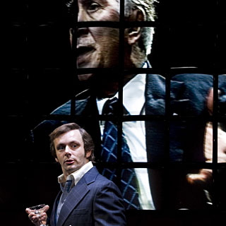 Frost/Nixon - Michael Sheen as David Frost and Frank Langella as Richard Nixon