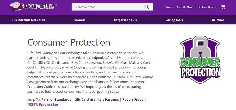 Gift Card Granny Review | Top Ten Reviews