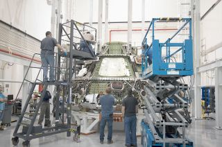 Orion Exploration Flight Test-1 Spacecraft Post-Flight
