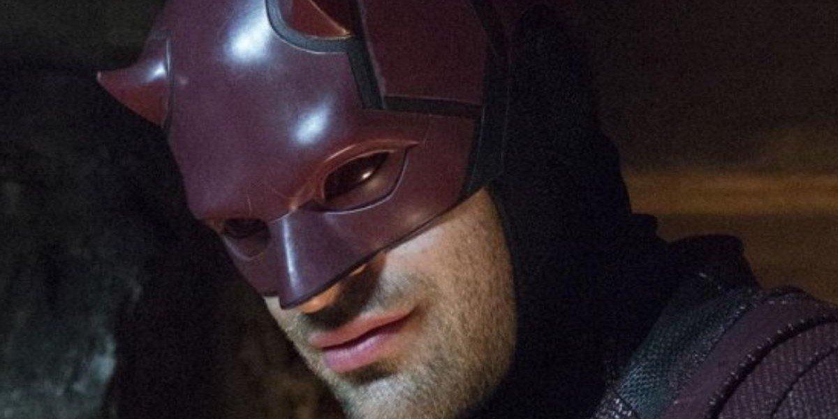 Daredevil, looking sly