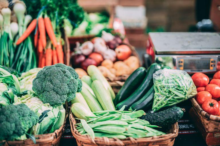 fresh vegetables Whole30 diet