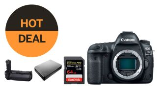 Canon 5D IV + FREE 4TB drive, 64GB card + battery grip! Cyber Monday madness!